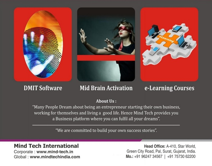 Dmit Software, Midbrain activation, eLearning courses